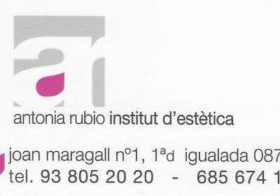 Antònia Rubio – Institut d'Estètica